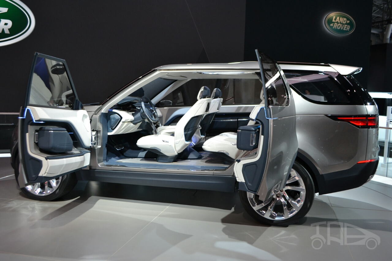 Land Rover Discovery Vision Concept At 2014 Ny Auto Show