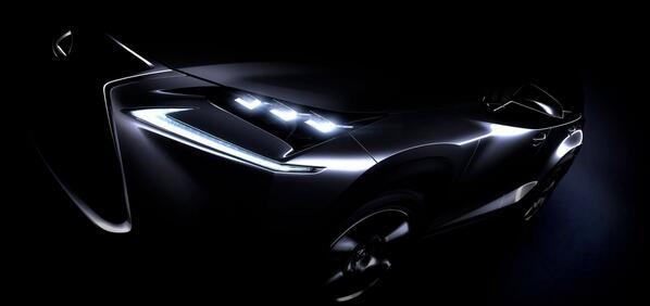 Lexus NX official teaser
