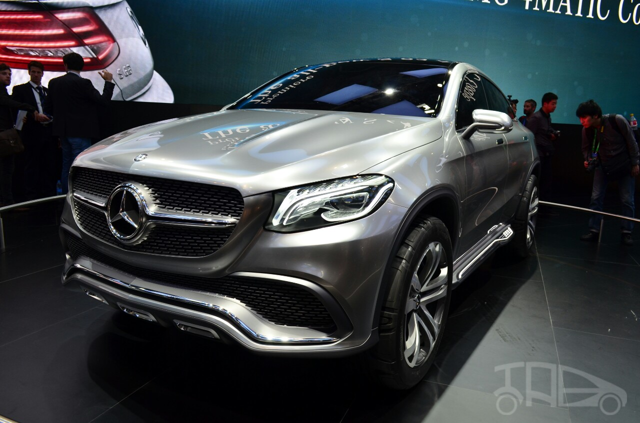 Mercedes-Benz Concept Coupe SUV at 2014 Beijing Auto Show - front three quarter left