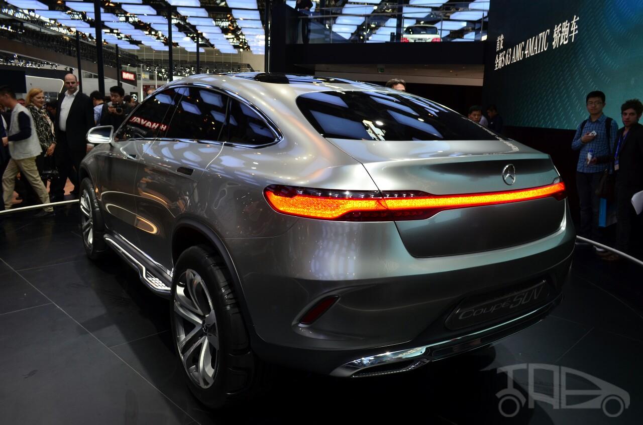 Mercedes-Benz Concept Coupe SUV at 2014 Beijing Auto Show - rear three quarter left