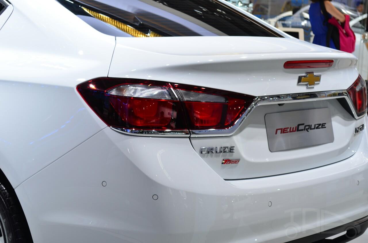 New Chevrolet Cruze taillamp at Auto China 2014