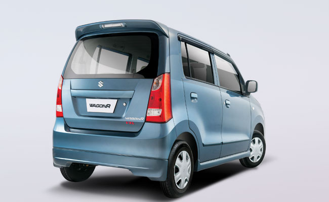 Suzuki Wagon R Pakistan rear three quarters