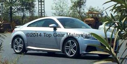 2015 Audi TT spotted in India for the first time