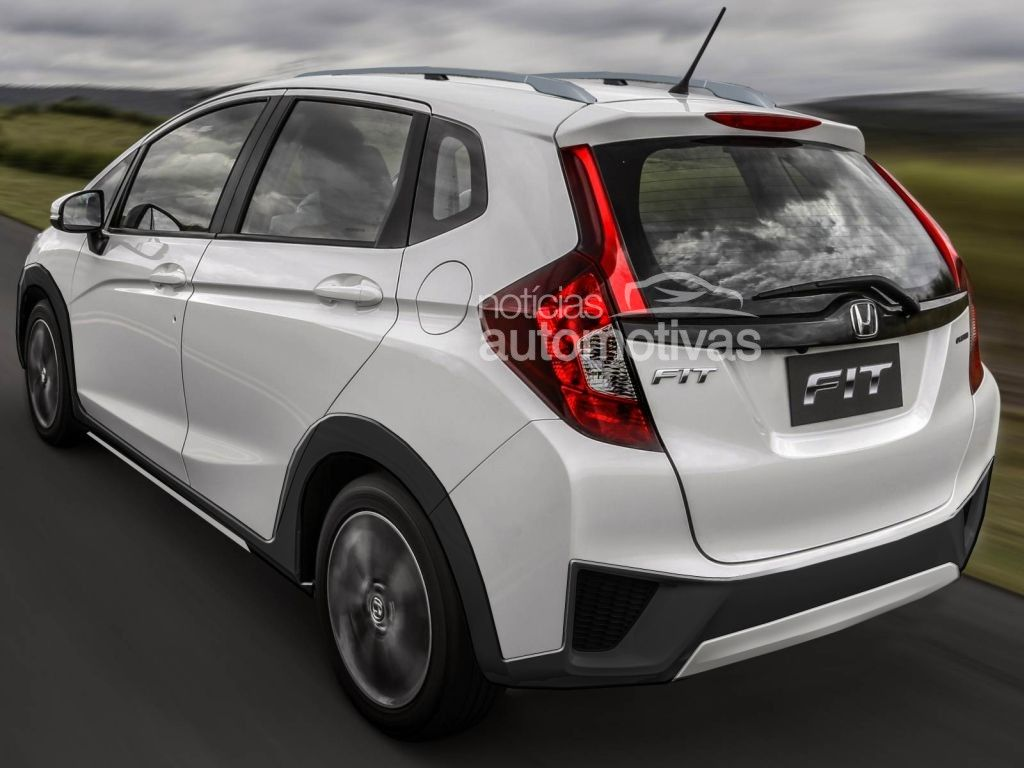 2015 Honda Fit Twist rendering