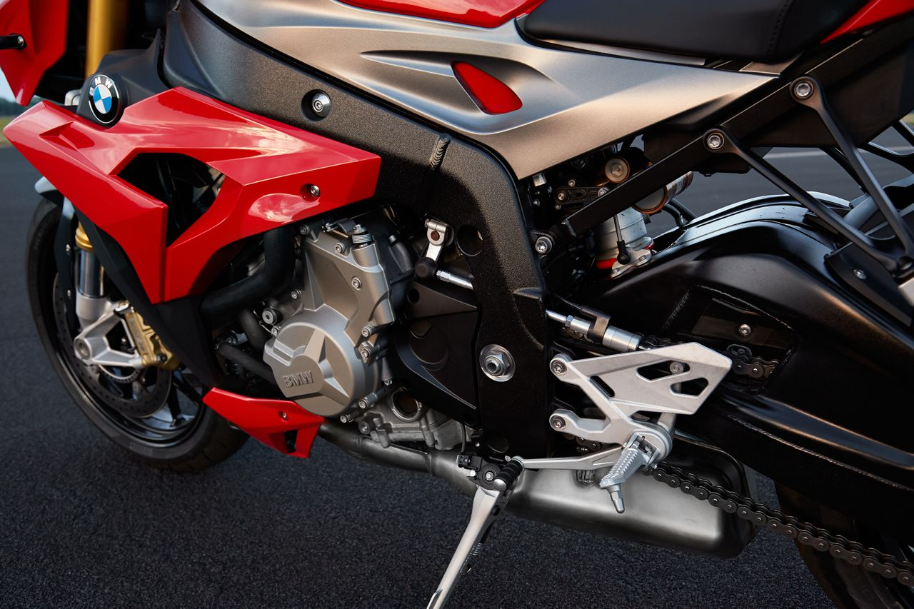 BMW S1000R press image engine