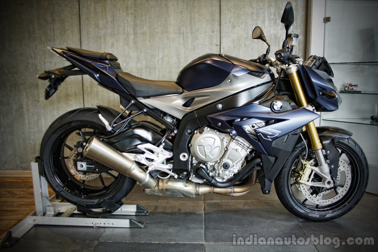 BMW S1000R side India launch