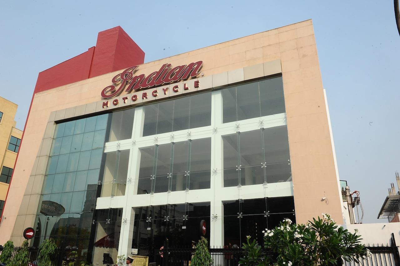 Indian Motorcycle Dealership Gurgaon press shot