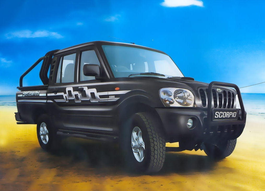 Mahindra Scorpio Getaway press shot