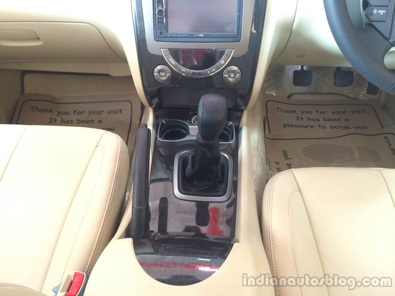Ssangyong Rexton RX6 manual gearbox