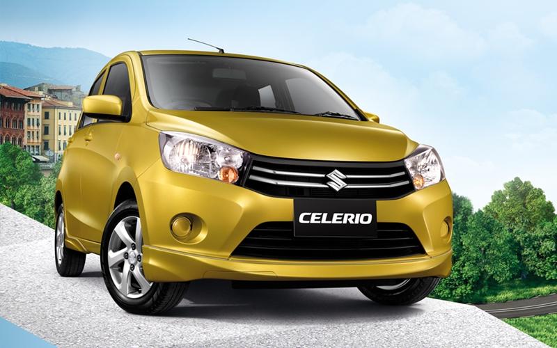 Suzuki Celerio Thailand press shot front