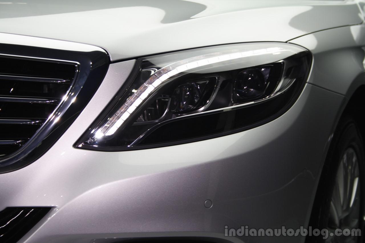 2014 Mercedes-Benz S Class S350 diesel launch headlight