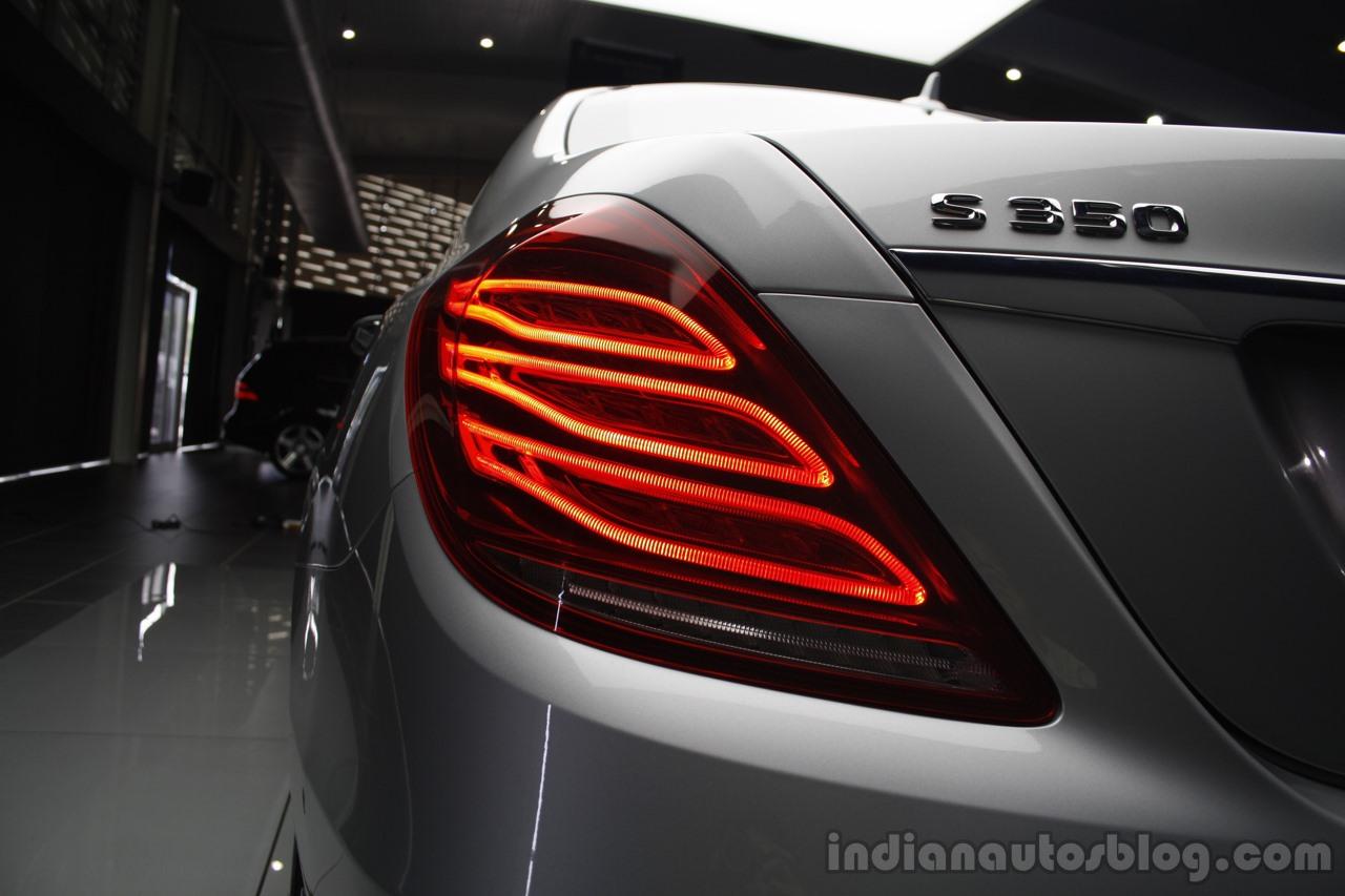 2014 Mercedes-Benz S Class S350 diesel launch taillight