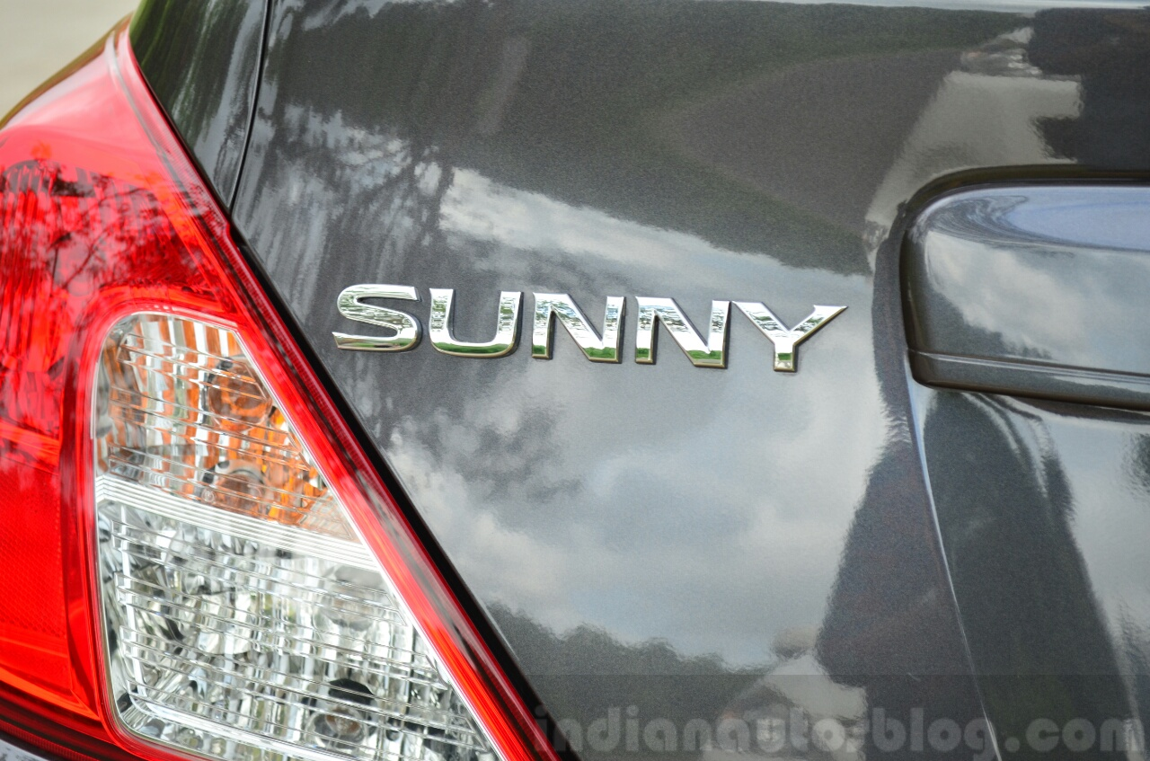 2014 Nissan Sunny facelift petrol CVT review Sunny