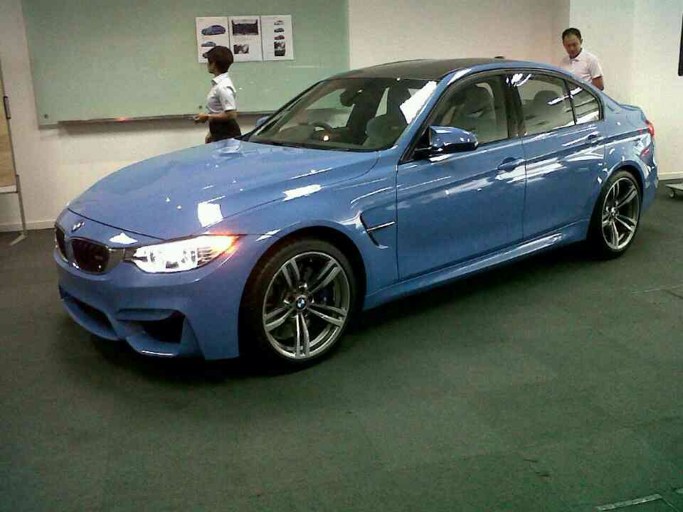 2015 Bmw M3 Seen In Malaysia Indian Launch This Year
