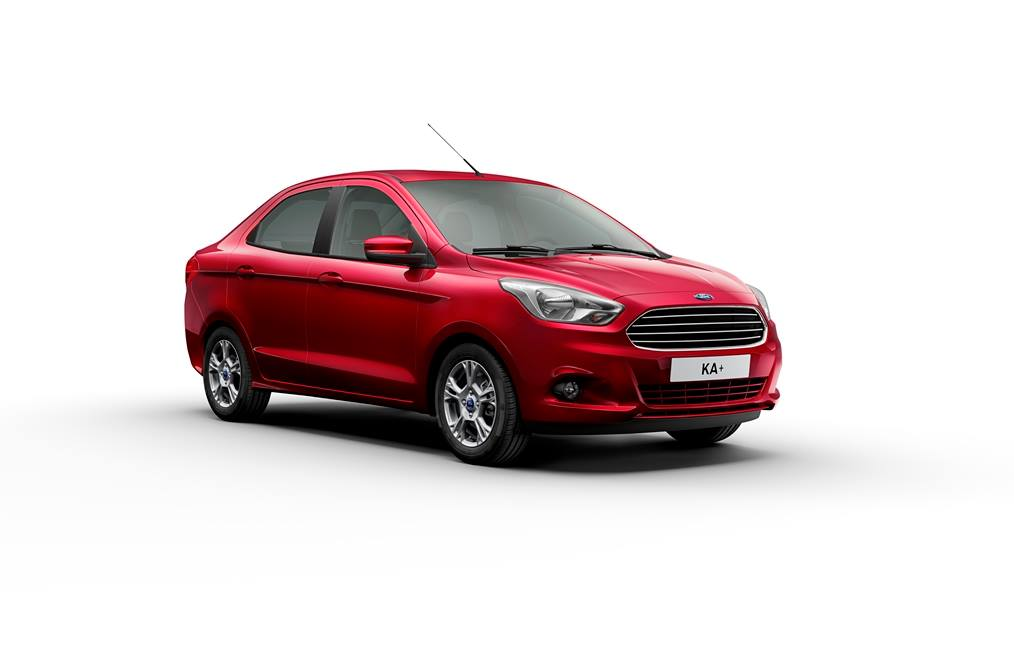 Ford Ka+ production version revealed
