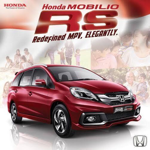 Honda Mobilio RS Indonesia front