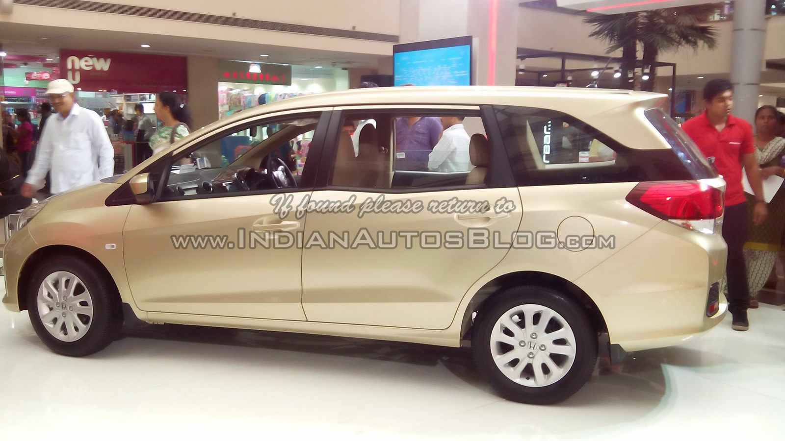 Honda Mobilio S Indian Trailer Film Released
