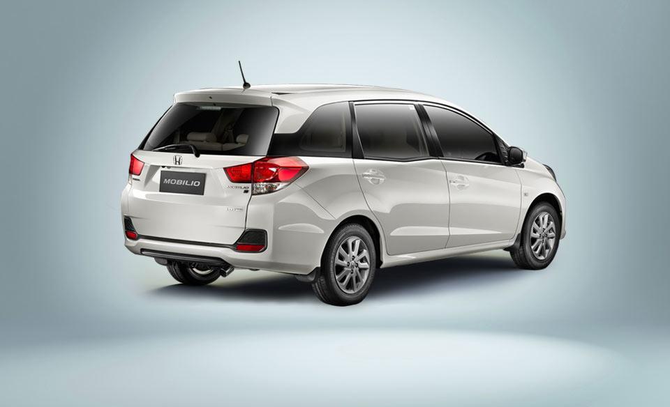 Honda Mobilio White Official Image Rear