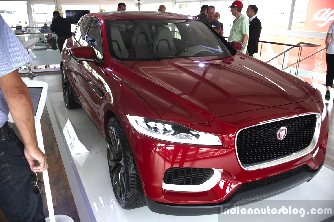 Jaguar C X17 Crossover Will Not Be Called An Suv 2016 Xq Front Three Quarters At The 2014 Goodwood Festival Of Speed