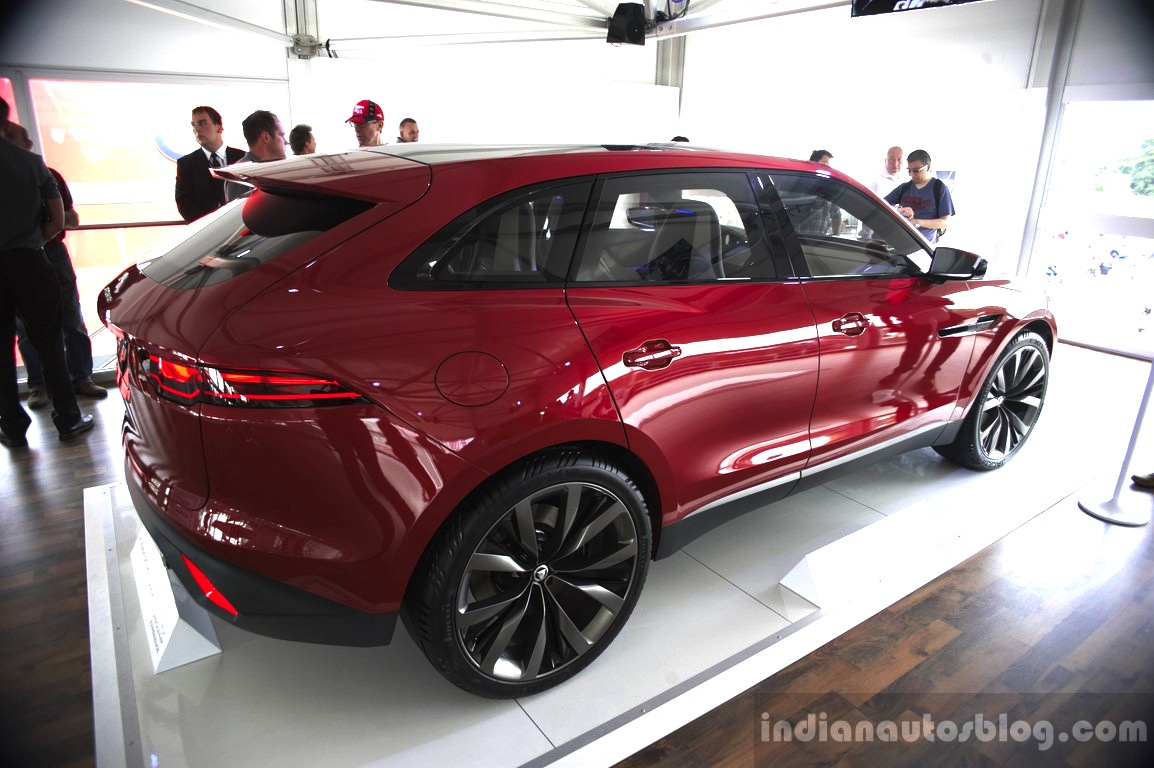 Jaguar C X17 Crossover Will Not Be Called An Suv 2016 Xq Rear Three Quarters At The 2014 Goodwood Festival Of Speed
