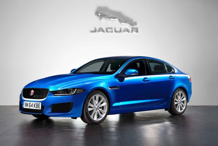 Jaguar XE rendering front three quarters