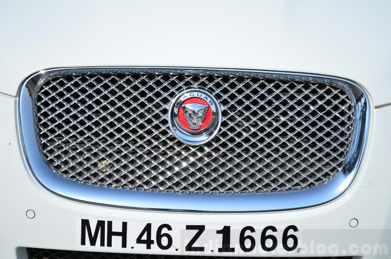 Jaguar XF 2.0L Petrol Review grille