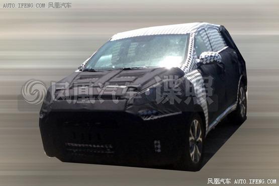 China - Hyundai ix25 based Kia compact SUV spotted testing
