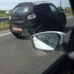 Mahindra S101 spied rear