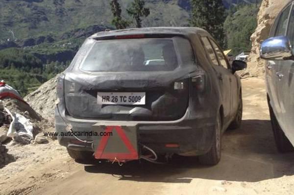 Maruti SX4 S-Cross spied rear