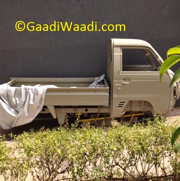 Maruti Y9T LCV body shell spied