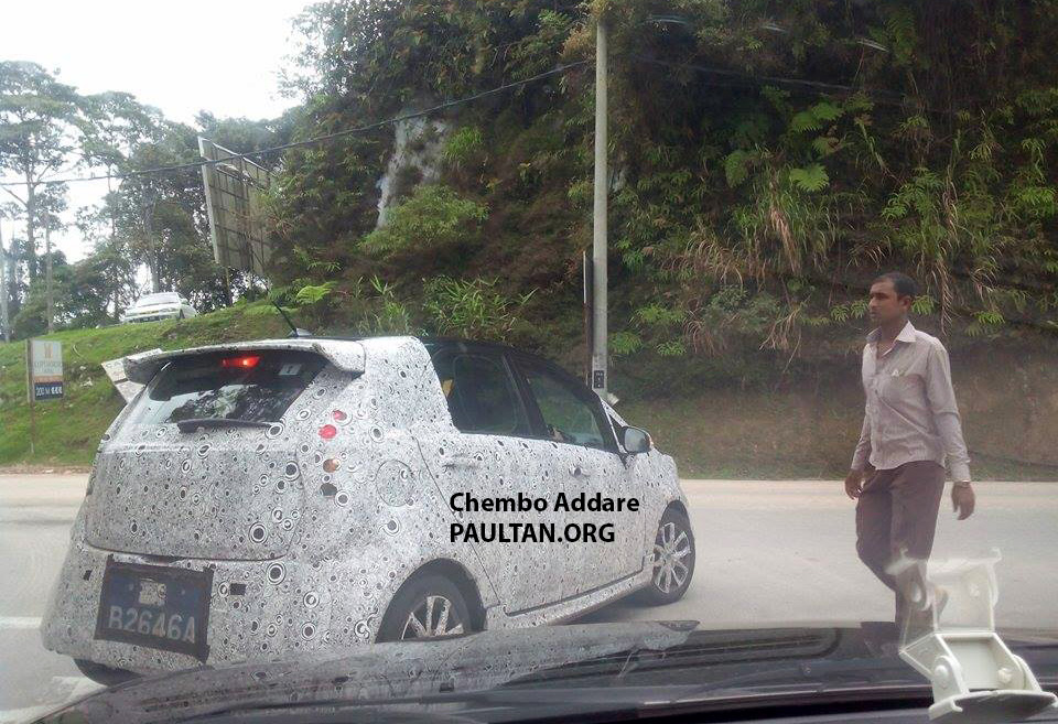 Proton P2-30A rear test mule spotted