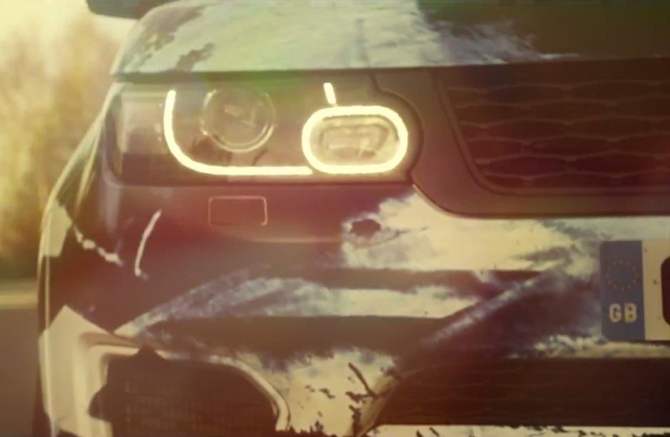 Range Rover Sport RS teased video bumper