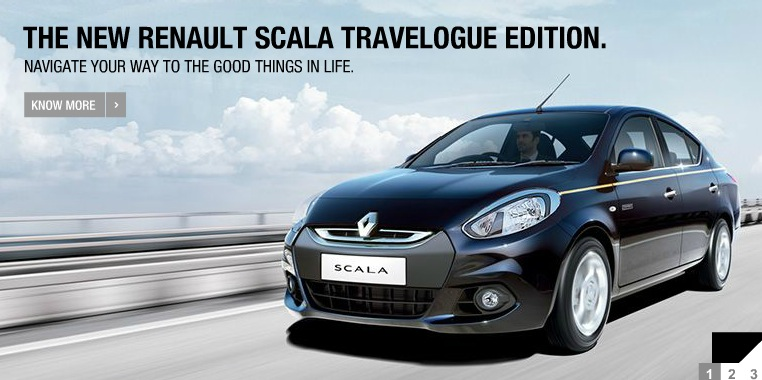 Renault Scala Travelogue Edition front