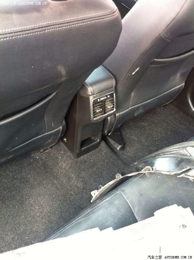 Suzuki Alivio rear AC vent spied in China on a truck