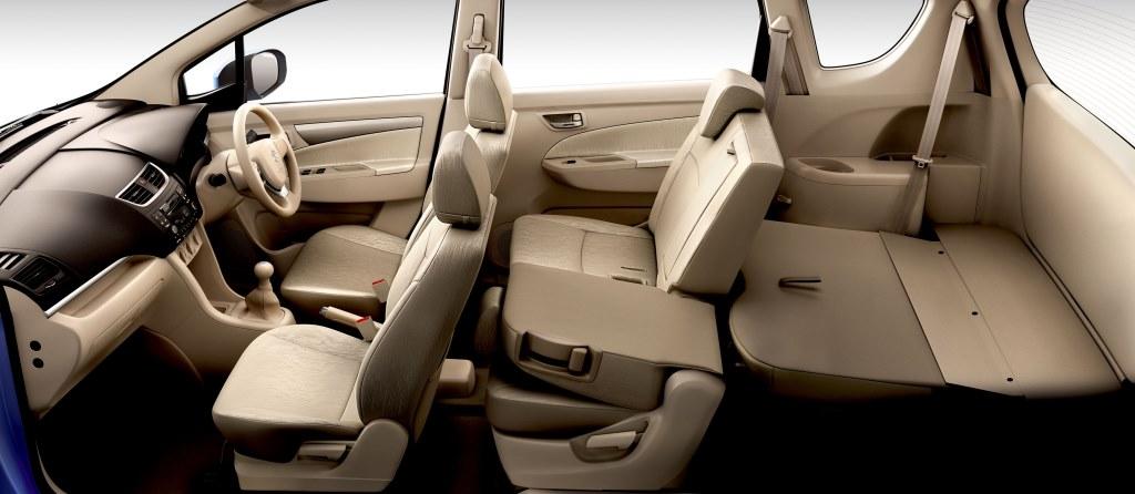 Suzuki Ertiga South Africa interior