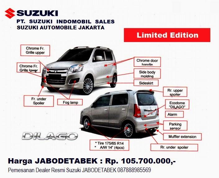 Suzuki Karimun Wagon R Dilago edition leaked