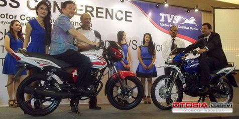 TVS Max 125 Indonesia