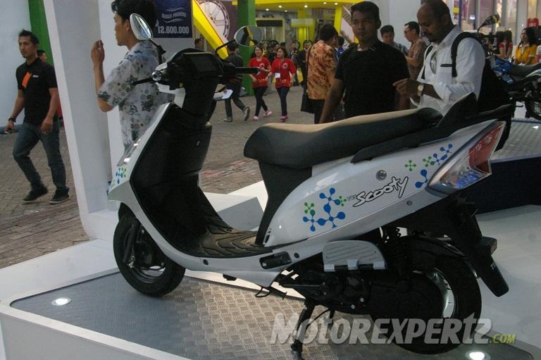 TVS Scooty Streak Hybrid Concept Indonesia
