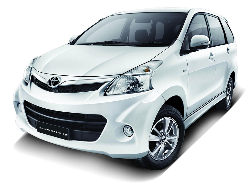 Toyota Avanza Veloz Luxury front