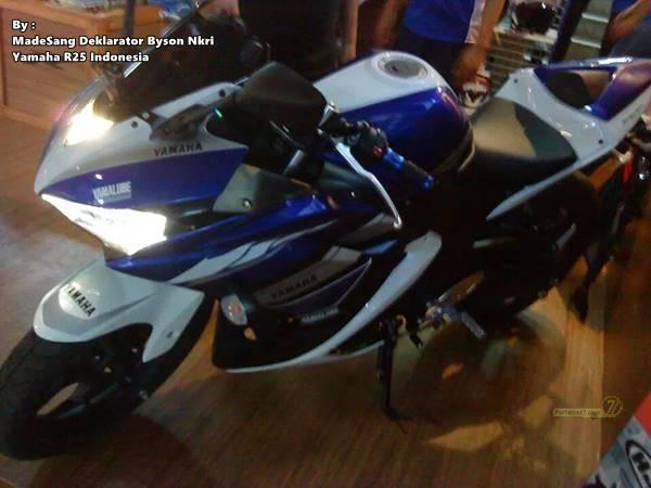 Yamaha R25 special edition