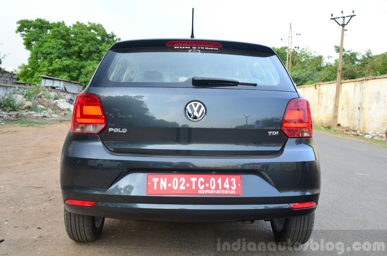 First Drive Review 2014 Vw Polo Facelift 1 5l Diesel