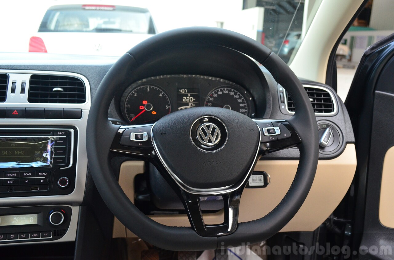 2014 VW Polo facelift first drive steering