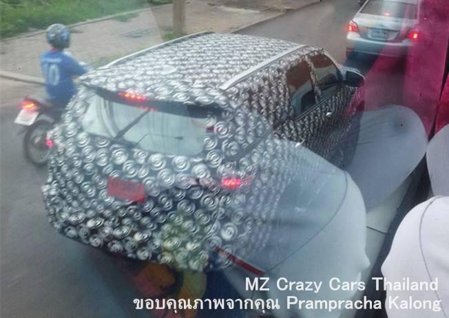 2016 Toyota Fortuner spied rear