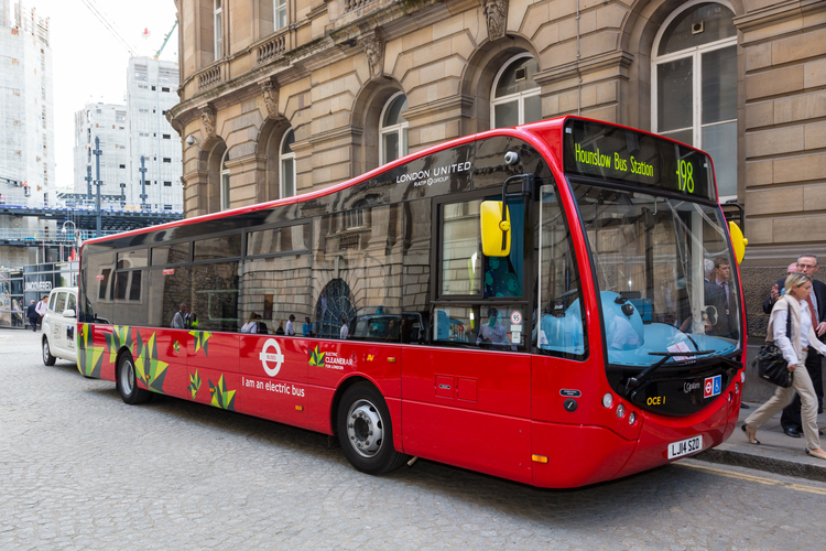 Ashok Leyland's Optare Metrocity pure electric bus on trial run in London