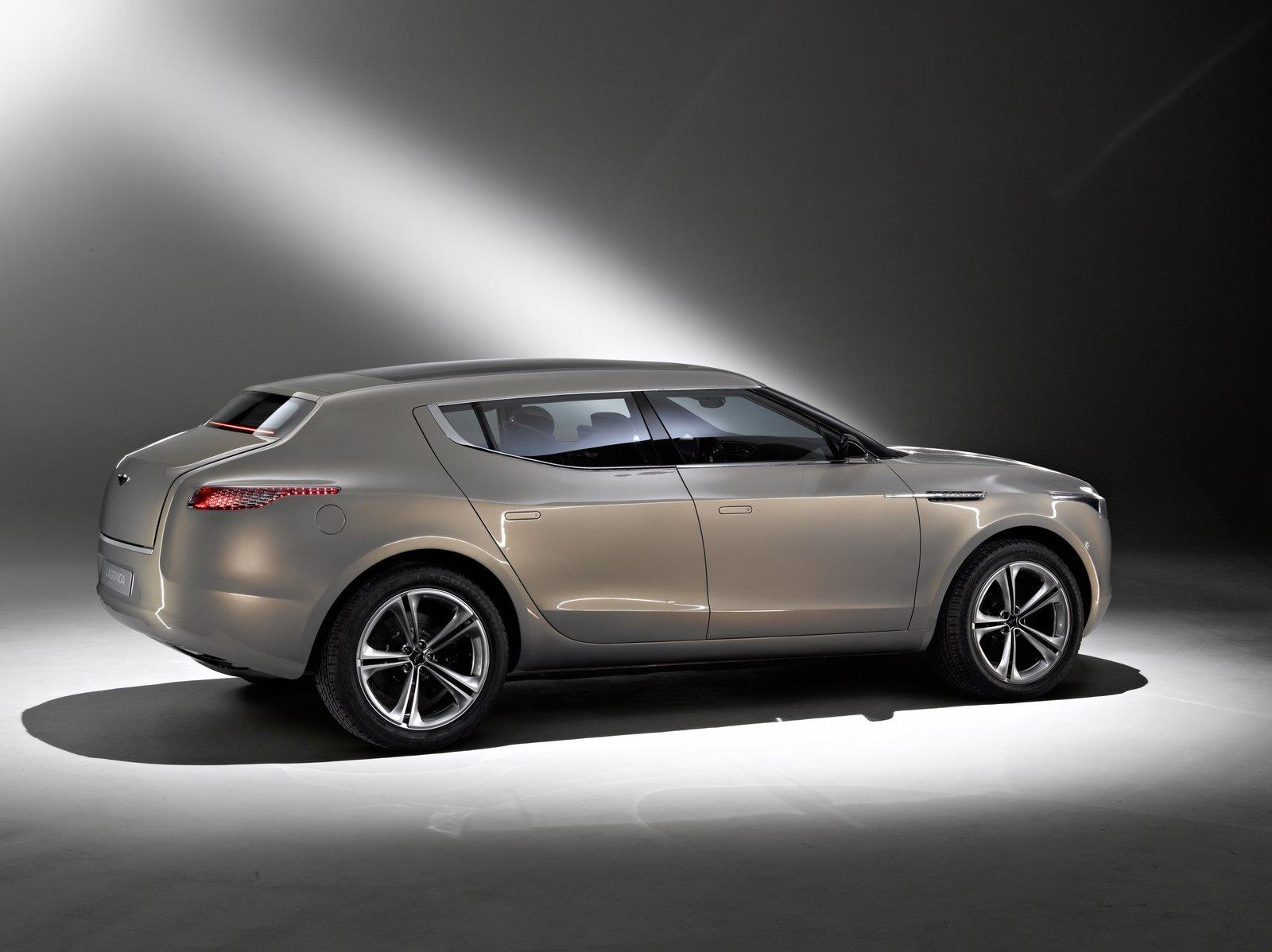 aston martin lagonda maybe a sedan instead of an suv