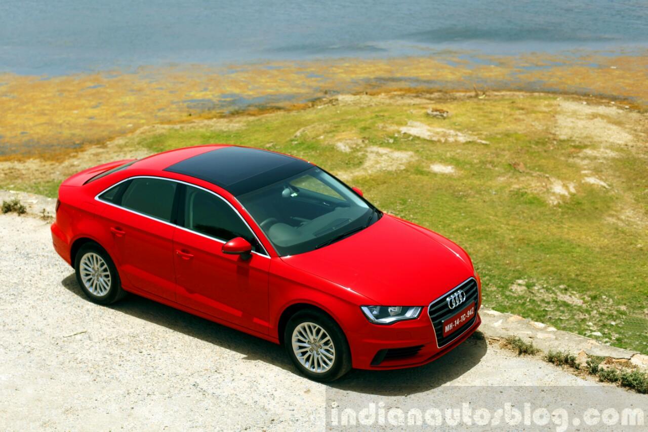 Audi A3 Sedan Review red top
