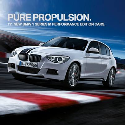 BMW 1 Series M Performance Edition India press shot