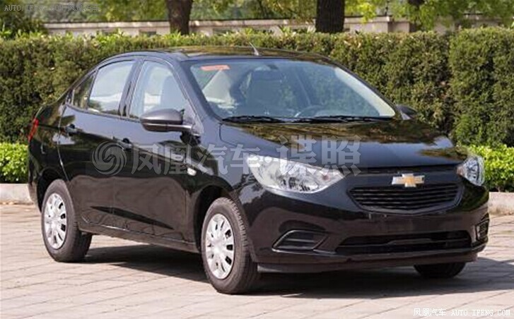 Chevrolet Sail facelift spied uncamouflaged front
