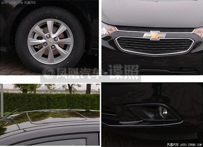 Chevrolet Sail facelift spied uncamouflaged grille