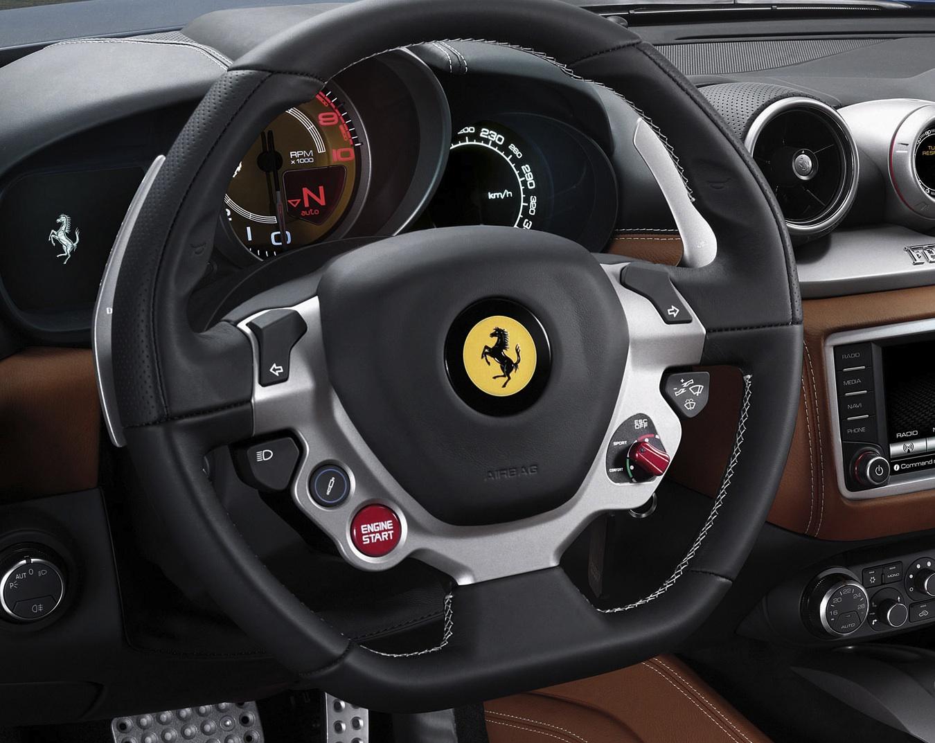Ferrari California T >> Ferrari California T steering wheel